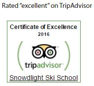 "Rated ""excellent"" on TripAdvisor"